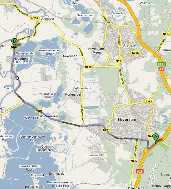 map nederhorst serviceconnection